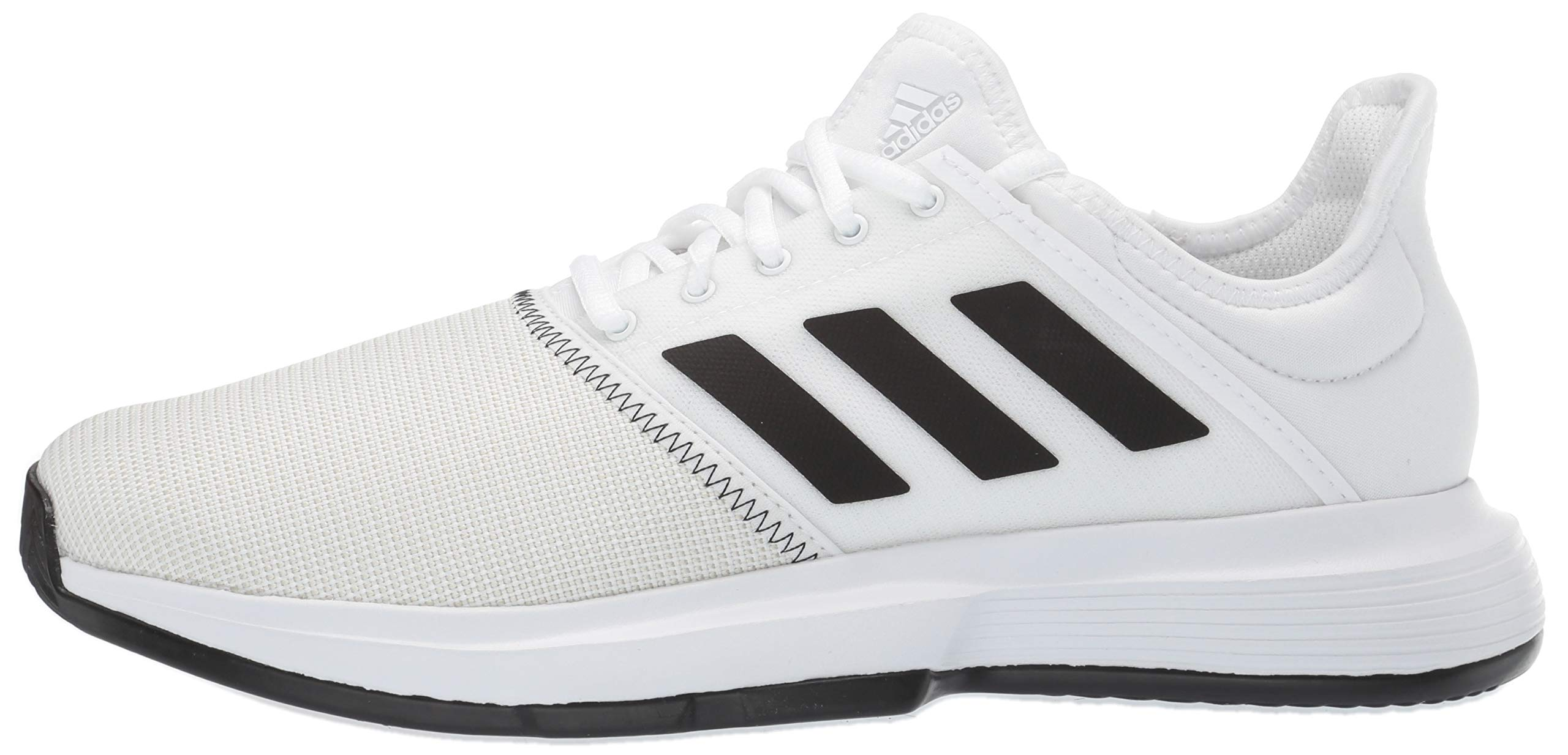 adidas Men's Gamecourt, White/Black/Grey 6.5 M US by adidas (Image #5)