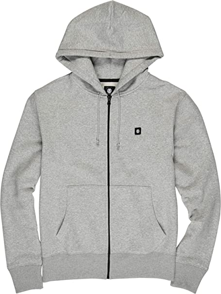Element Bolton ZH L1 Charcoal ZH Hoodie Zip Pullover Jacke