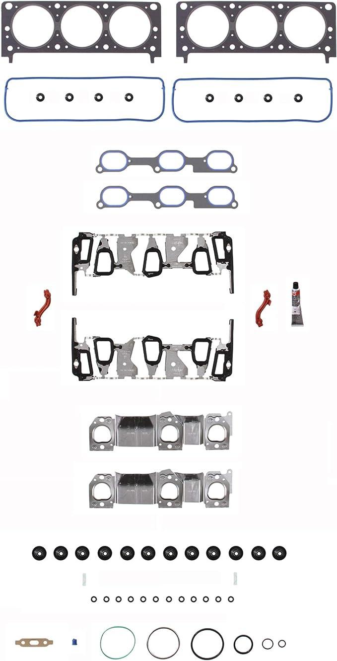 Engine pn Fel-Pro HS 9071 PT-3 Cylinder Head Gasket Set FelPro HS9071PT3