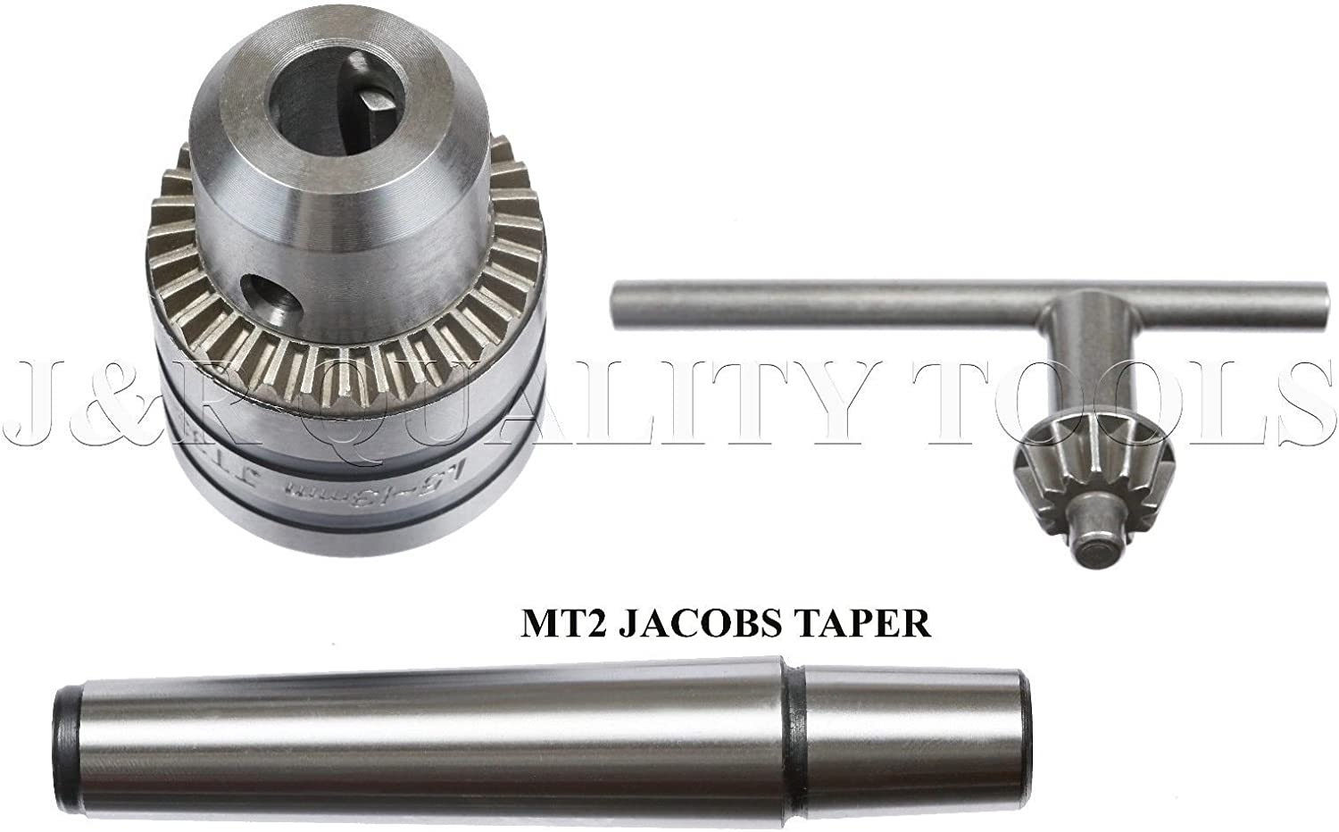MT2 Morse Taper Tapered Arbor Lathe Tail Stock Drill Chuck Tailstock