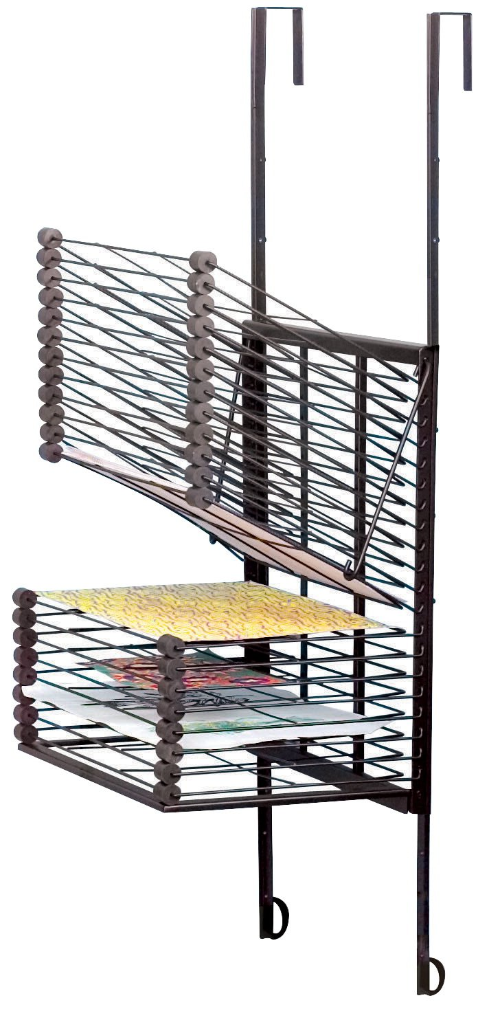 Sax Over-The-Door Drying Rack, 20-Shelves (2-(Pack))