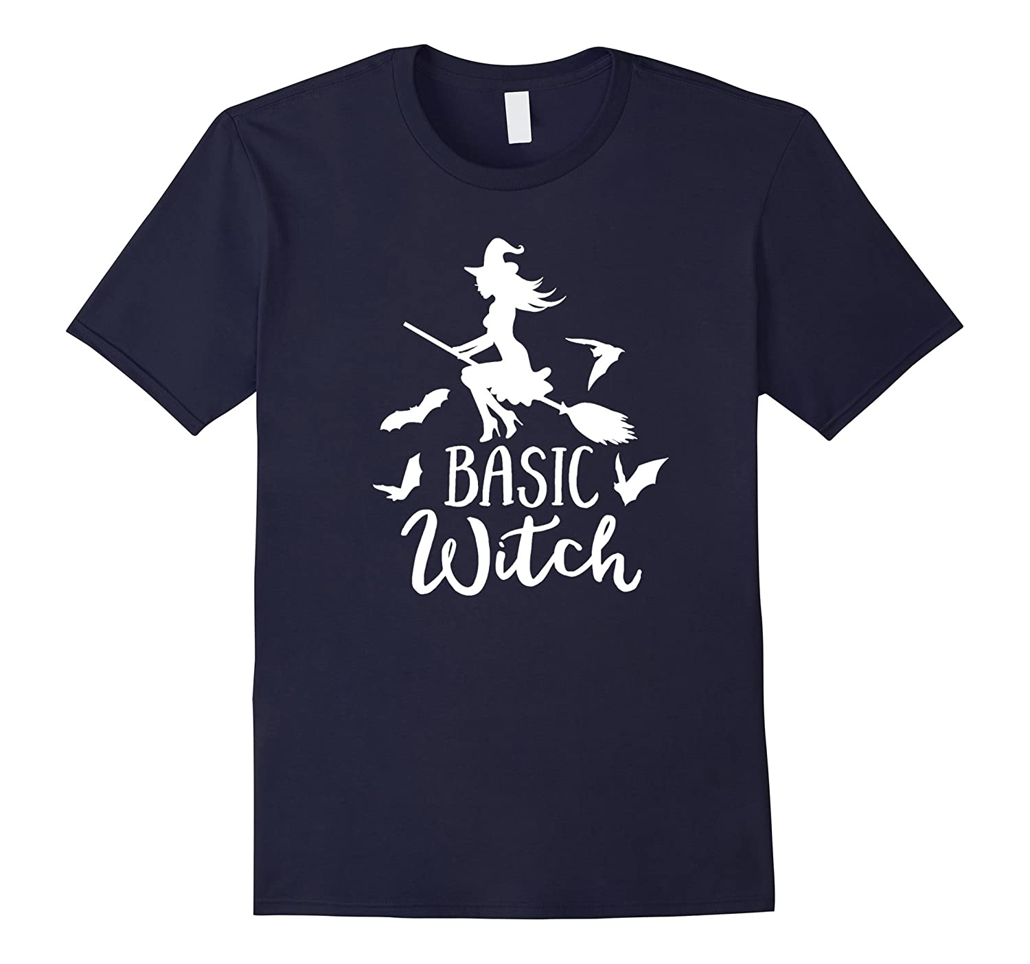 Basic Witch Halloween T-Shirt Perfect Halloween Gift Tee-FL