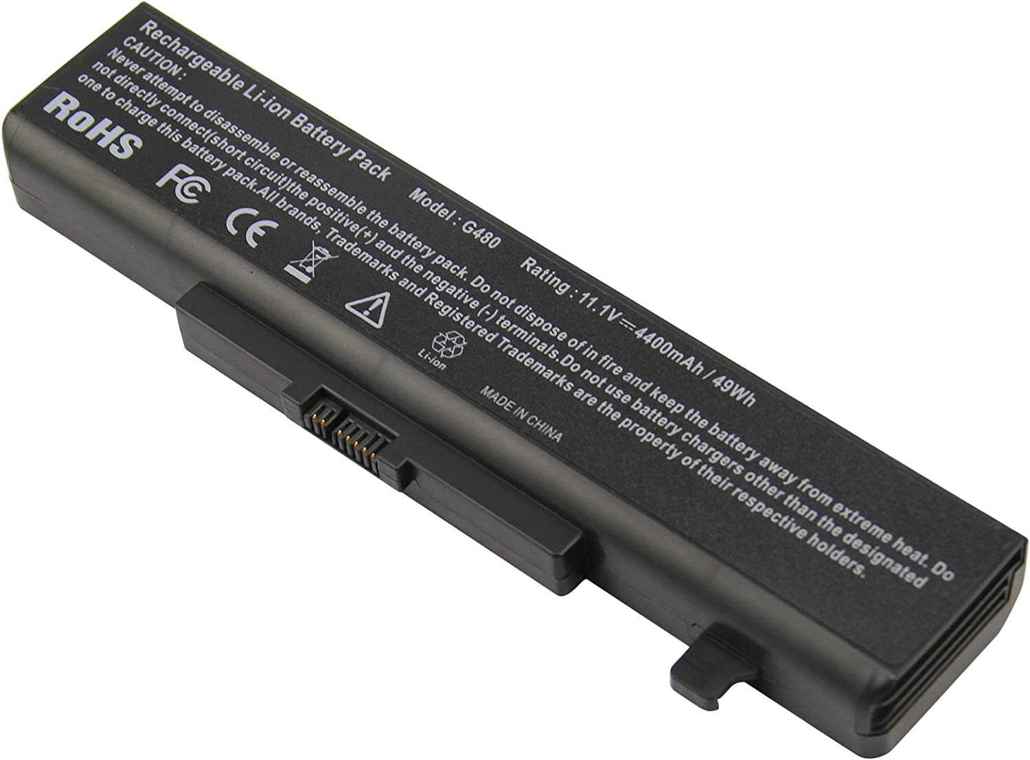 ARyee L11S6Y01 L11L6Y01 45N1043 Battery Laptop Battery Replacement for Lenovo IdeaPad G480 G585 Y480 Y485 Y580 Z380 Z580 G485 G580 Y480N Y485N Y580N Z480 Z585 Series 0A36311 45N1043