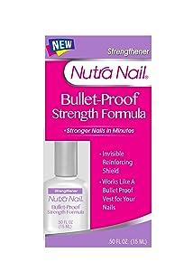 Nutra Nail Bullet-Proof Strength Formula, 0.5 Fluid Ounce