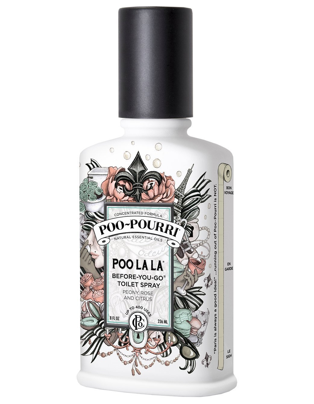 Poo-Pourri Before-You-Go Toilet Spray 8-Ounce Bottle, Poo La La