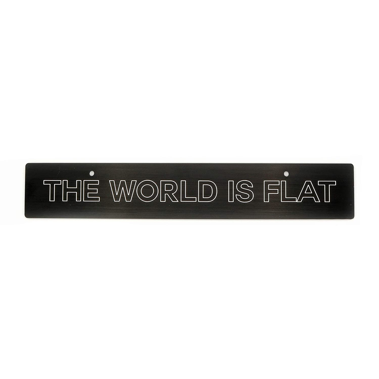 WRX//STI Billetworkz The World is Flat License Plate Delete Compatible with 08