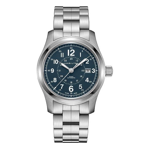 Hamilton – Reloj Hombre HAMILTON Khaki Field Auto h70605943 pulsera piel – h70605943