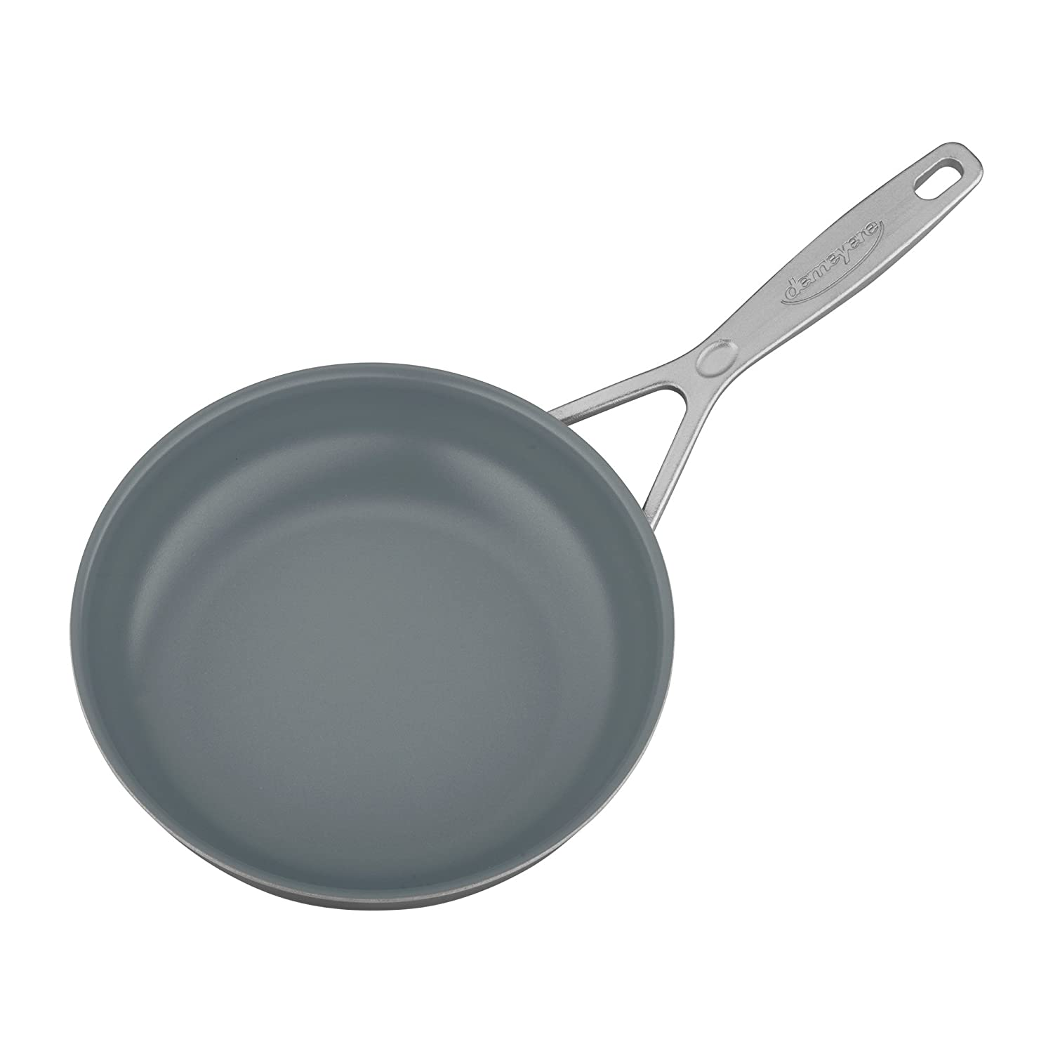 Demeyere Industry 5-Ply 9.5 Stainless Steel Ceramic Nonstick Fry Pan