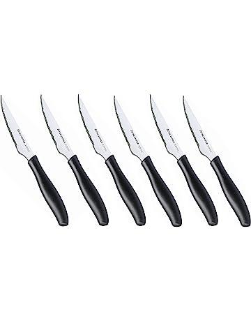 Tescoma Sonic - Juego de 6 cuchillos chuleteros, 10 cm
