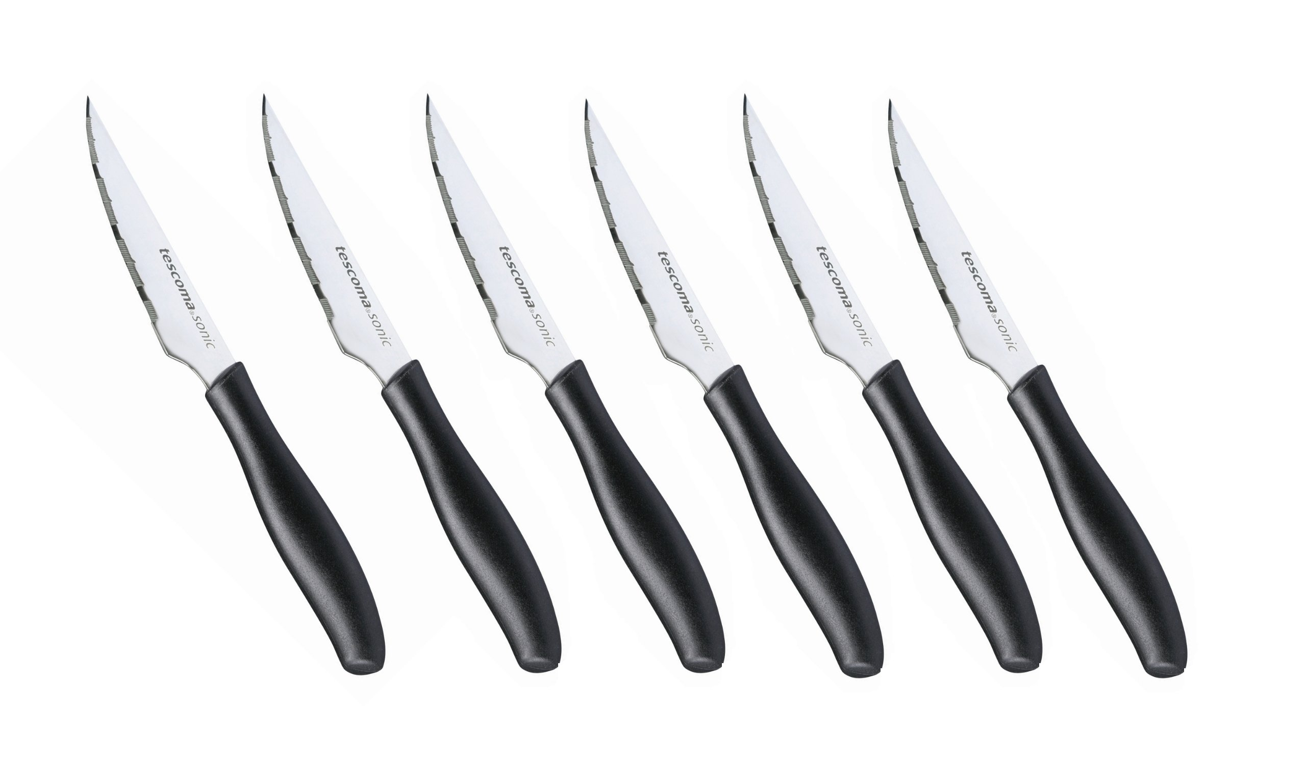 Tescoma Sonic - Juego de 6 cuchillos chuleteros, 10 cm product image