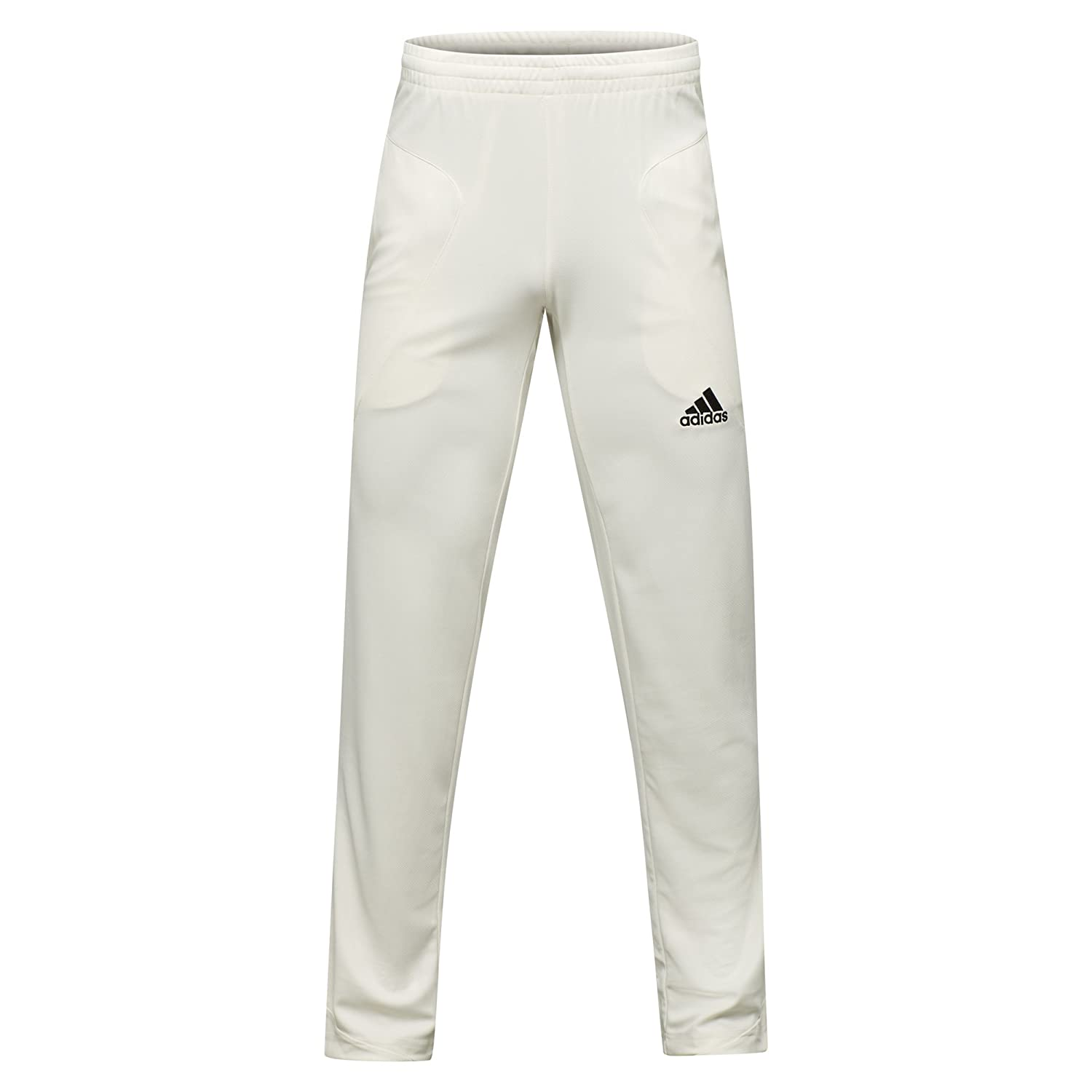 adidas Howzat Mens Cricket Whites Batting Bowling Pant Trouser White - 26' AJ451542