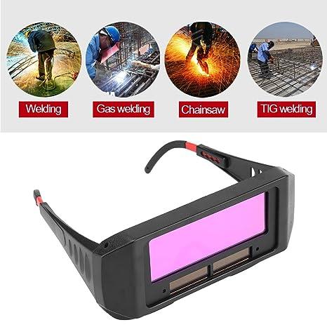 Gafas de soldar con ojos, solares y autooscurecimiento para soldar, gafas de soldar, gafas de soldar: Amazon.es: Industria, empresas y ciencia