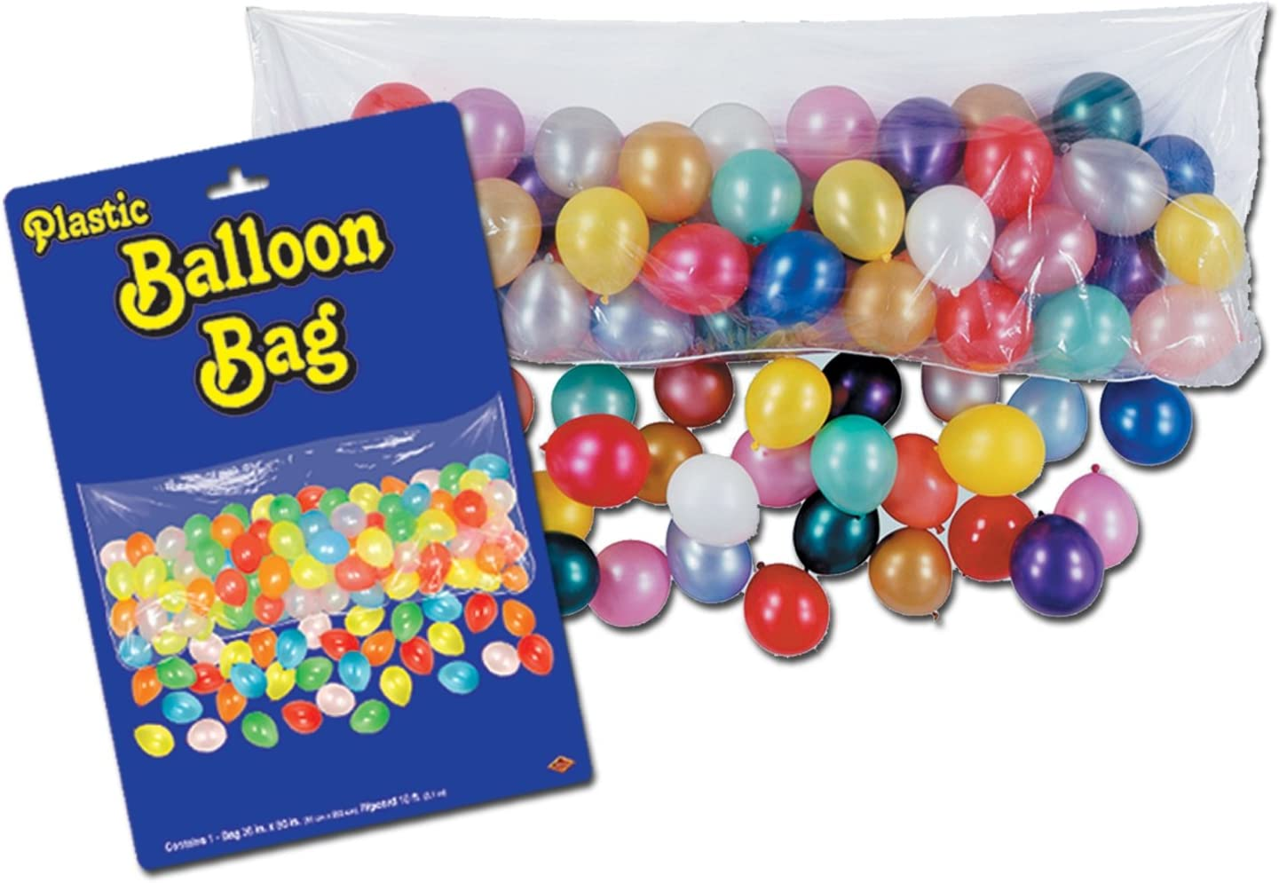 Plastic Balloon Bag The Beistle Company 55910 bag only Party Accessory 1 count