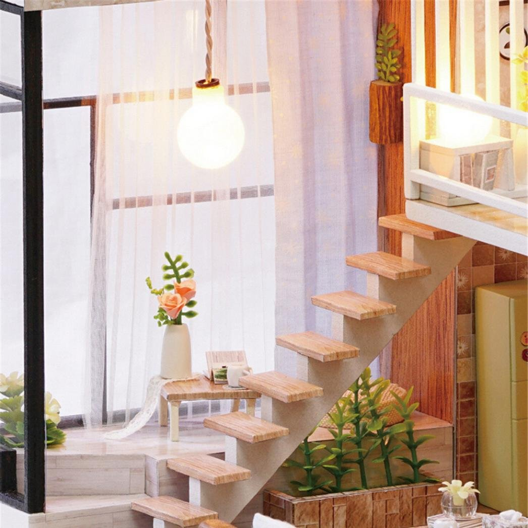 DIY Miniature Adorable House Furniture Set for Children's