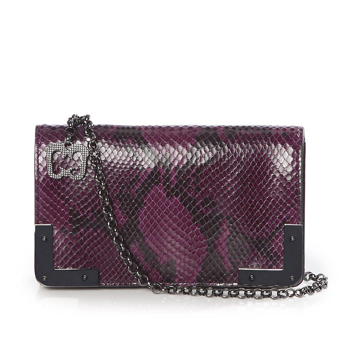 Eric Javits Luxury Fashion Designer Women's Handbag - Cassidy - Plum