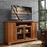 "Crosley Campbell 60"" TV Stand in Oak"