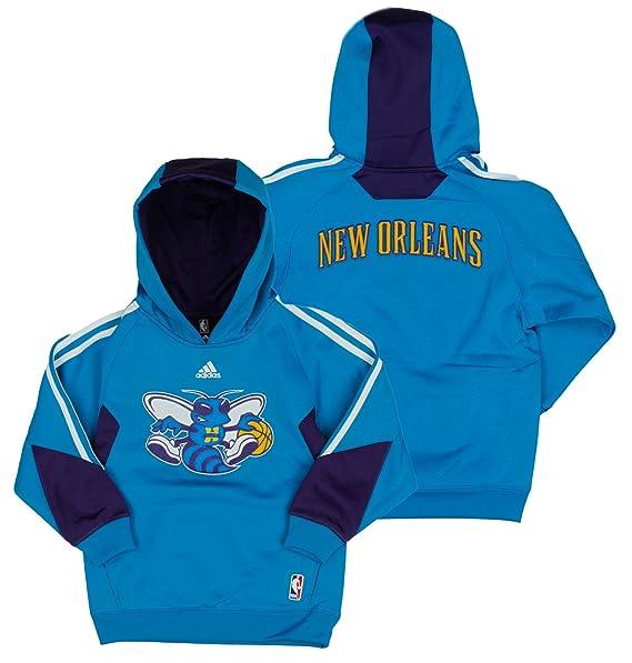 adidas New Orleans Hornets NBA Grandes Juventud en Corte - Sudadera con Capucha, Color Azul - Azul -: Amazon.es: Ropa y accesorios
