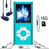Amazon Price History for:MP3 Player / MP4 Player, Hotechs MP3 Music Player with 16GB Memory SD card Slim Classic Digital LCD 1.82'' Screen MINI USB Port with FM Radio, Voice record