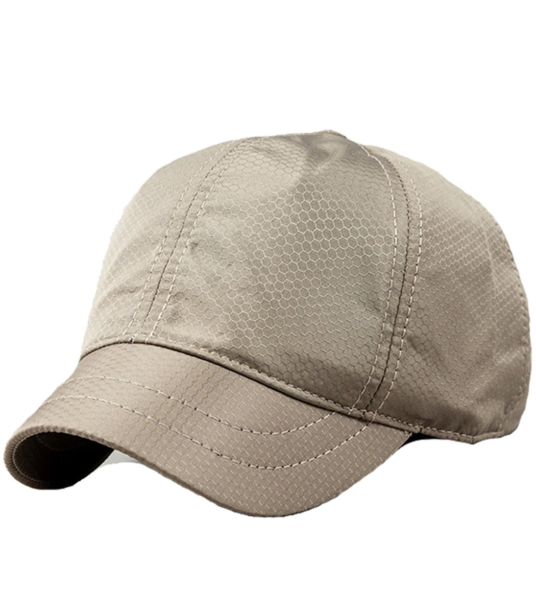 Clecibor Unisex Baseball Cap Summer Breathable Lattice Adjustable Quick Dry Outdoor Hat