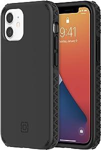 Incipio Grip Case Compatible with iPhone 12 Mini - Black