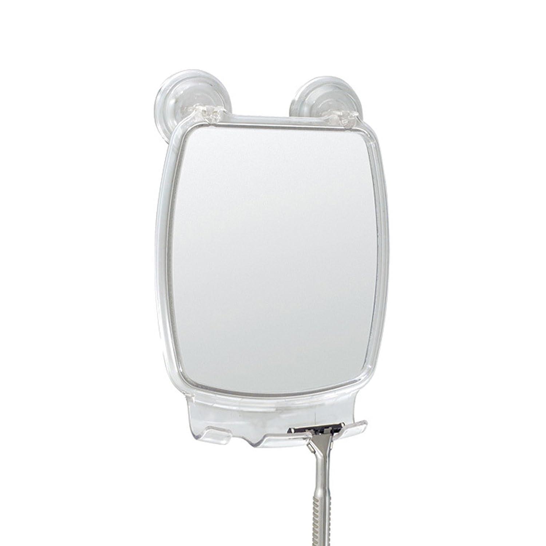 InterDesign Power Lock Suction Storage Hook for Spa, Bathroom, Bathtub, Shower - 4 Hooks, Clear 51720