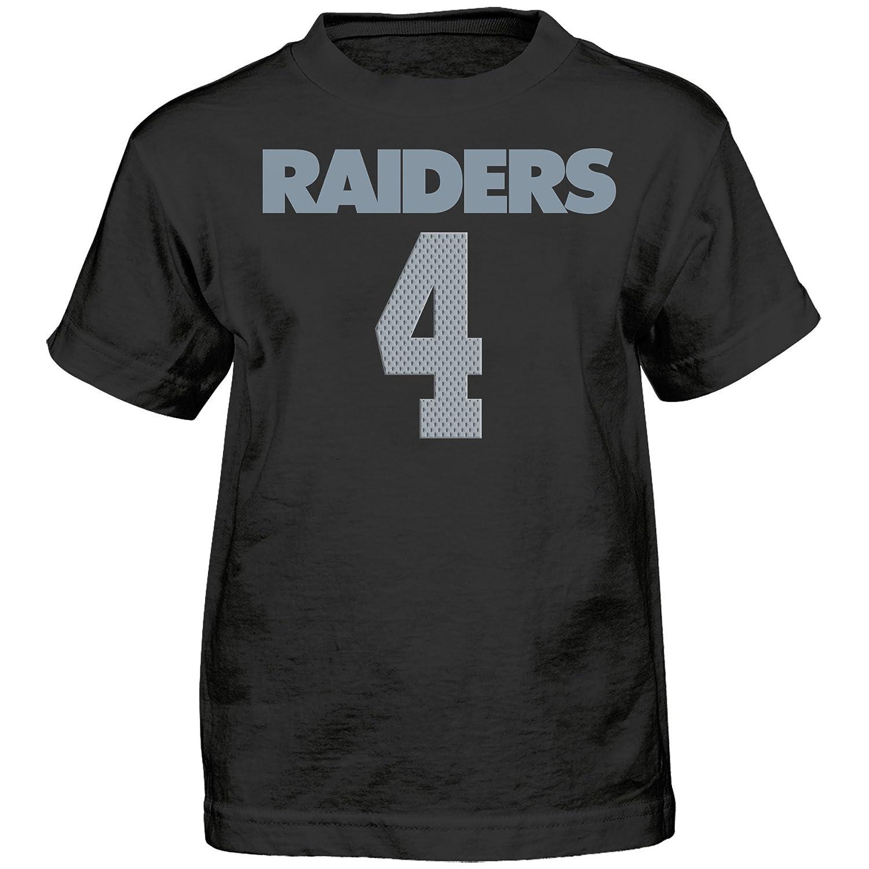 【海外 正規品】 NFL Boys Raiders 4 Mainliner Boys – 7 Derek Carr Oakland Raiders Mainliner Name & Number半袖Tシャツ、ブラック、スモール/ (4 ) B06WLNLJV1, 土浦市:1c89ed31 --- a0267596.xsph.ru