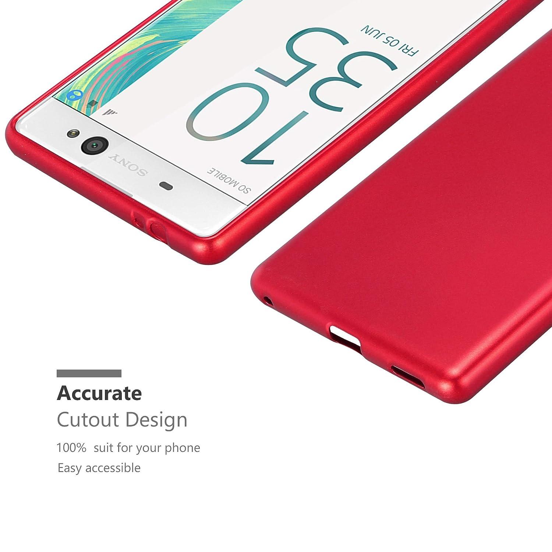 Amazon.com: Cadorabo - Carcasa de silicona para Sony Xperia ...
