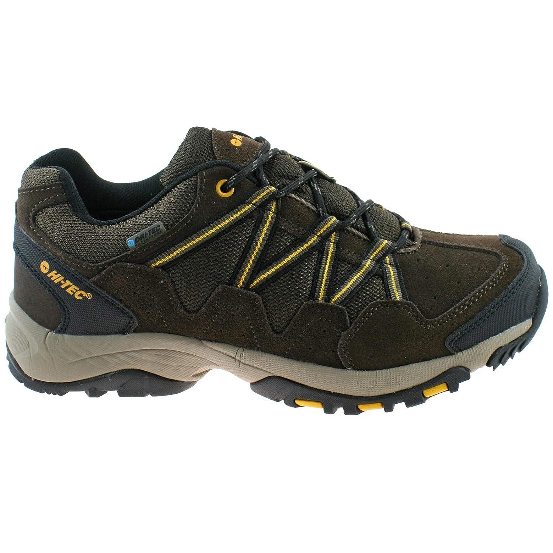 Hi-Tec Mens Rambler WP DK Chocolate Gold Gold Gold Waterproof Walking Hiking schuhe -UK 7 (EU 41) 473088