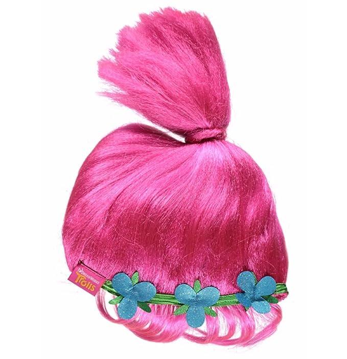 Disfraz de Poppy de Trolls con sonido Rosa rosa 7-8 Años: Amazon.es: Ropa y accesorios
