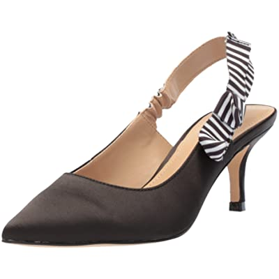Amazon Brand - The Fix Women's Fatina Kitten Heel Slingback Pump: Shoes