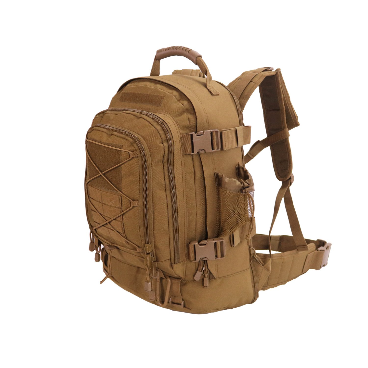 ARMYCAMOUSA 40L - 64 L Outdoor 3 Day Expandable Backpack for Gym Sport Hiking Camping Trekking Travel Military & Tactical,Bug Out Bag