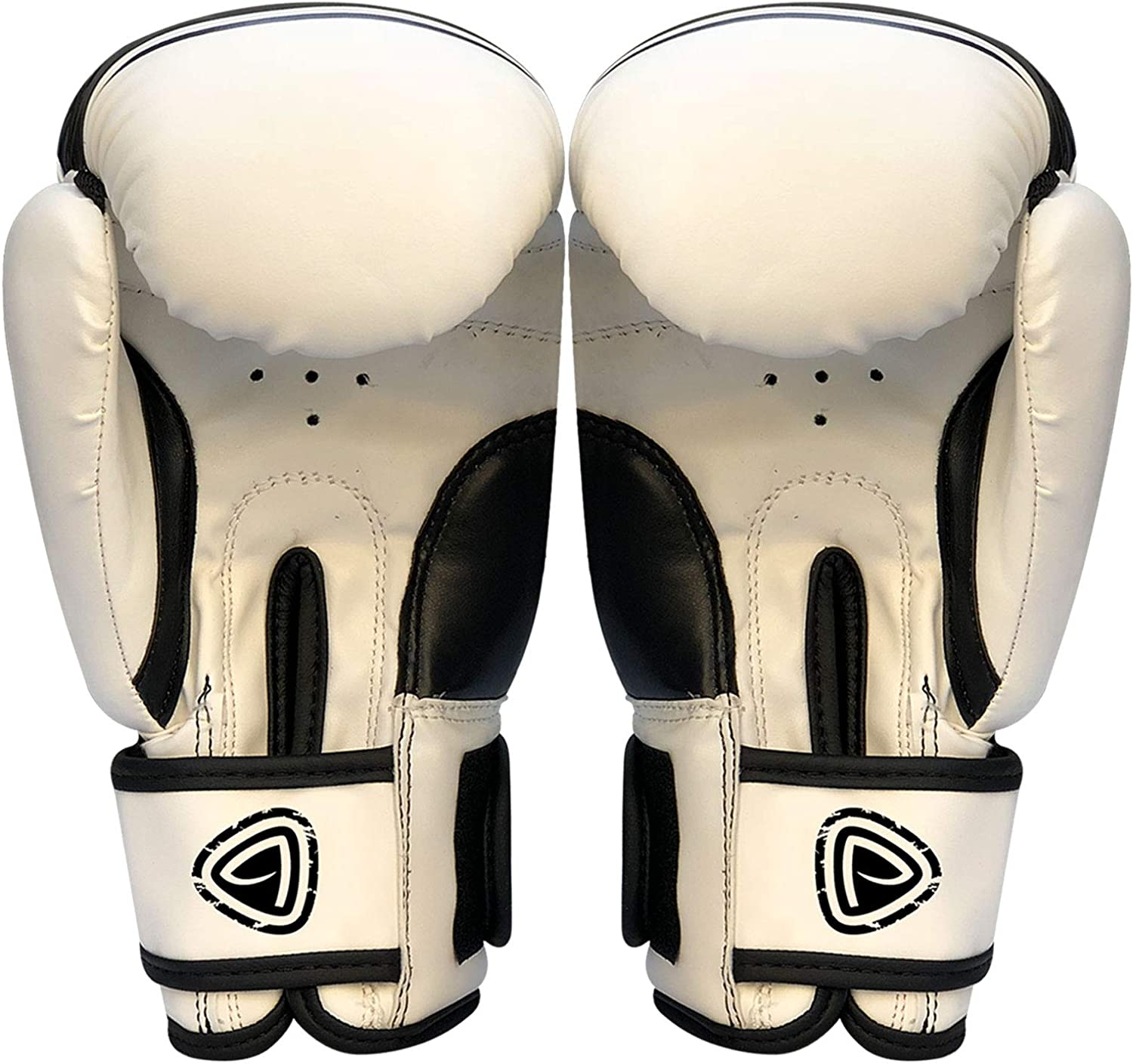Junior Boxing Gloves With Kids School Gym Drawstring Bag Rex Leather MMA Mitts
