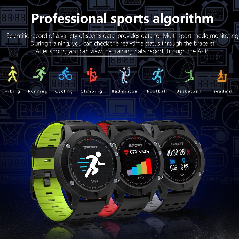 Amazon.com : Digood F5 Smartwatch IP67 Waterproof GPS Track ...