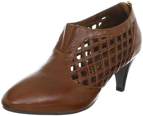 Lise Lindvig ELIZA 12219335 - Zapatos clásicos de cuero para mujer, color marrón, talla 41