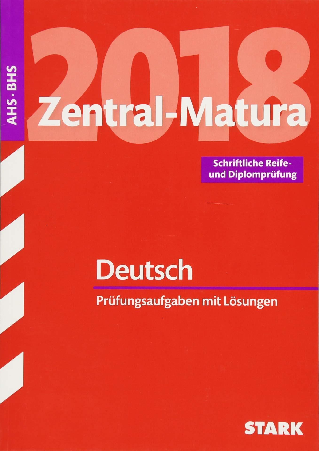zentralmatura 2018