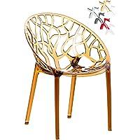 CLP Diseño Silla de jardín, silla de Bistro