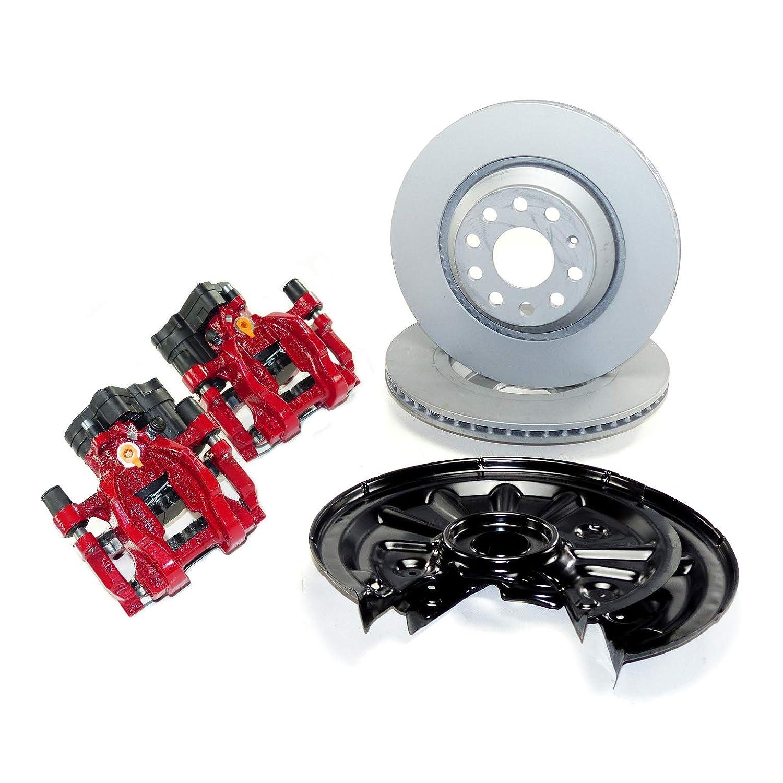 ATE Bremse Bremsanlage Umbaukit hinten auf 310mm innenbel/üftet Farbe rot