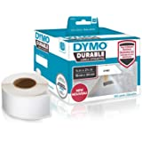 """DYMO LW Durable Industrial Labels for LabelWriter Label Printers, White Poly, 3/4"""" x 2-1/2"""", 2 Rolls of 450 (1933085)"""