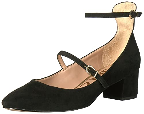 750d6ad96cdd76 Sam Edelman Women s Lulie Black Kid Sue Lea 40  Amazon.it  Scarpe e ...