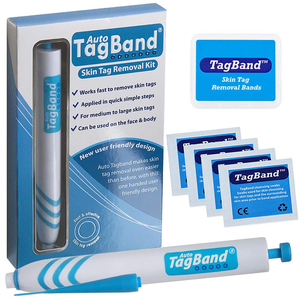 Auto TagBand Skin Tag Remover Device for Medium to Large Skin Tags by TagBand