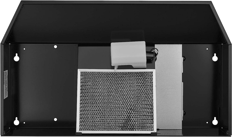 Broan 403623 ADA Capable Under-Cabinet Range Hood Black 36-Inch