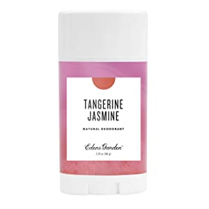 Edens Garden Tangerine Jasmine Natural Deodorant, Aluminum & Baking Soda Free (For Normal & Sensitive Skin), Made With Essential Oils, Vegan, For Men & Women, 2.25 oz
