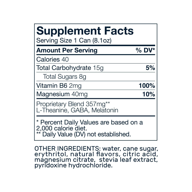 Amazon.com : Som Sleep, The Original Sleep Support Formula with Melatonin, Magnesium, Vitamin B6, L-Theanine & GABA. Non-GMO, Vegan, Gluten-Free and ...