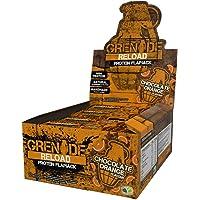 Grenade Reload Protein Flapjacks Bars, Chocolate Orange, 12 x 70 g