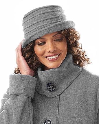 a01574ad73d Janska Spiral Brim Hat - Women s Spiral Stitched Fleece Hat with Medium  Brim – One Size Fits All