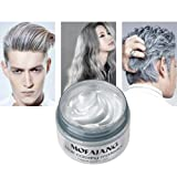 Amazon Price History for:Temporary Silver Gray Hair Wax 4.23oz, Instant Hairstyle Mud Cream, Hair Pomades for Party, Cosplay, Nightclub, Masquerade, Halloween.