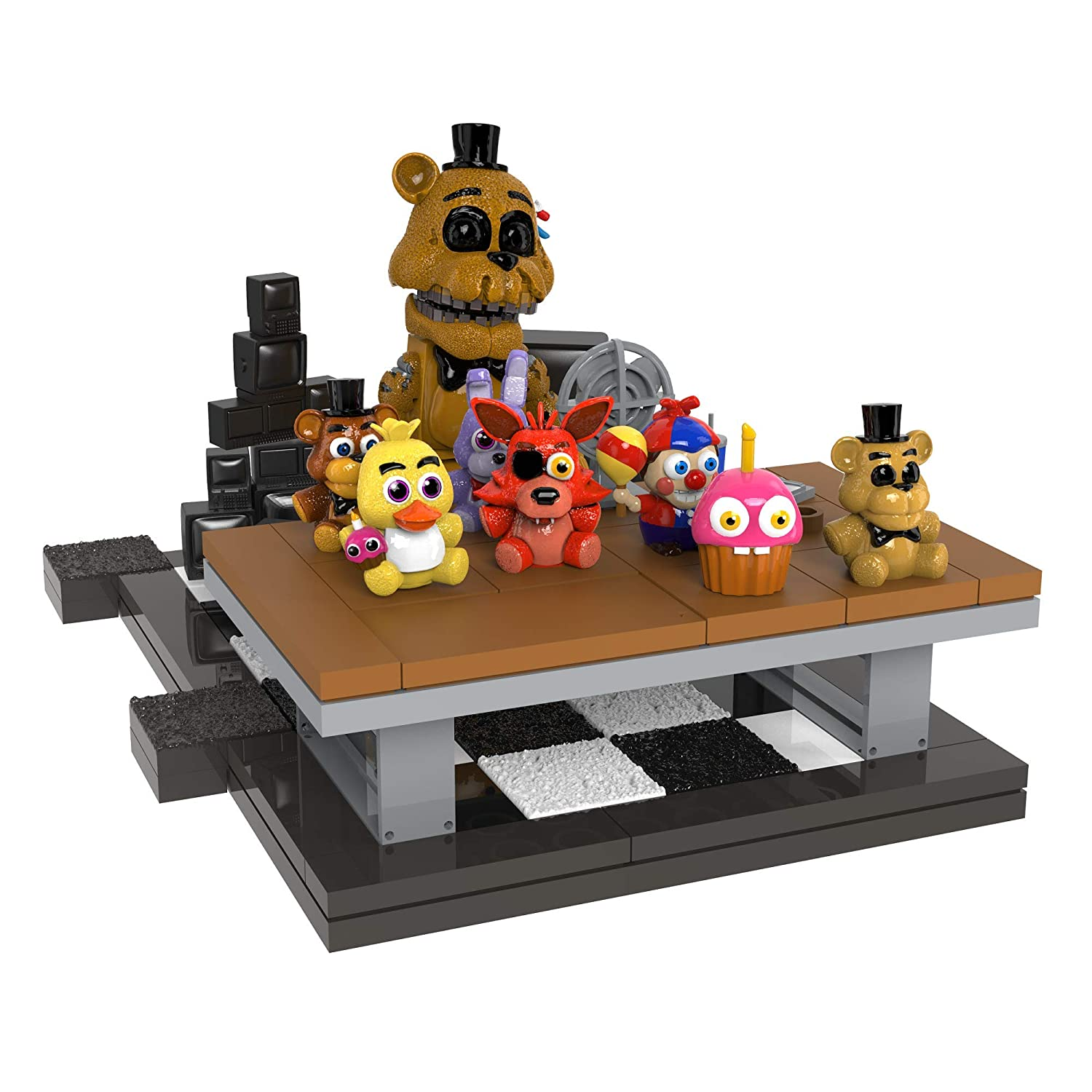 McFarlane Toys Five Nights at Freddy's Office Desk Small Set