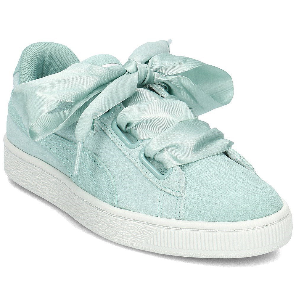 cheap for discount e36c2 bd756 Puma Women's Suede Heart Pebble WN's Trainers: Amazon.co.uk ...