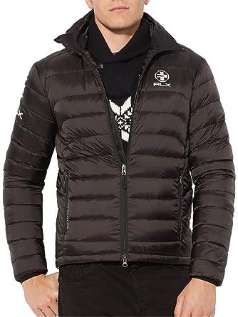 RLX Ralph Lauren Men's Explorer Down Jacket, Black, ...