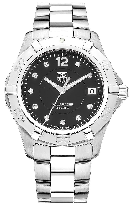 TAG Heuer Men s WAF111C.BA0810 Aquaracer Diamond Watch